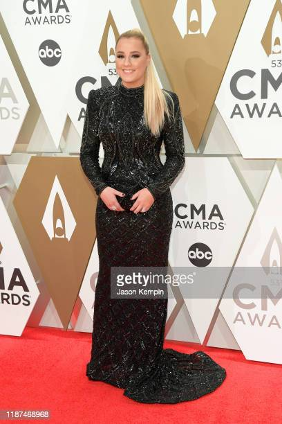 Gabby Barrett attends the 53rd annual CMA Awards at the Music City Center on November 13 2019 in Nashville Tennessee
