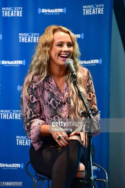Gabby Barrett performs at SiriusXM Nashville Studios at Bridgestone Arena on June 6 2019 in Nashville Tennessee