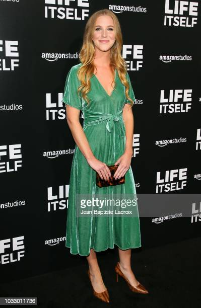 Gabby Bryan attends the premiere of Amazon Studios' 'Life Itself' at ArcLight Cinerama Dome on September 13 2018 in Hollywood California