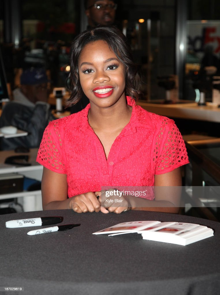 Gabby douglas meet greet photos and images getty images gabby douglas attends a meet and greet at the sony store on november 5 2013 m4hsunfo