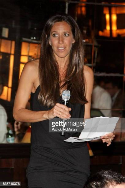 Gabby Karan attends FRIENDS IN DEED Fall Benefit Honoring Donna Karan and Andy Cohen at Balthazar on June 16 2009 in New York City
