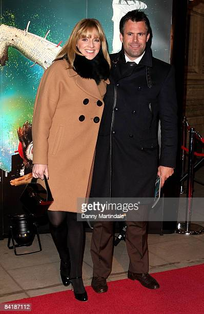 Gabby Logan and Kenny Logan attend the Cirque du Soleil Quidam Gala Premiere at Royal Albert Hall on January 6 2009 in London England