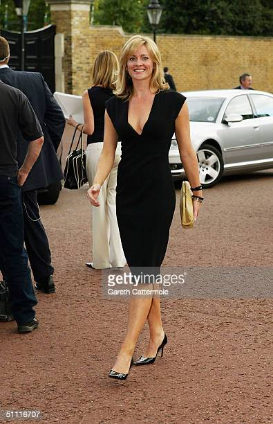 Gabby Logan arrives at a musical reception and summer party hosted by HRH The Prince of Wales President of The Prince's Trust at St James's Palace on...