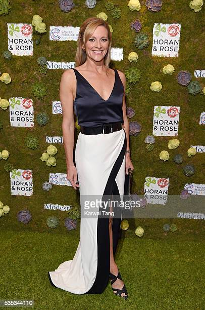 Gabby Logan arrives for The Horan And Rose event at The Grove on May 29 2016 in Watford England