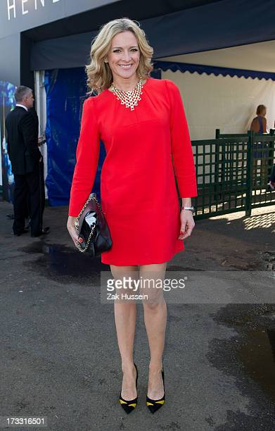 Gabby Logan attends Day 2 of The Henley Festival on July 11 2013 in HenleyonThames England
