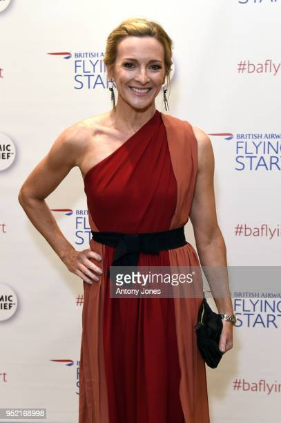 Gabby Logan attends the British Airways golf day and gala ball at The Grove on April 27 2018 in London England