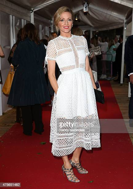 Gabby Logan attends the Glamour Women Of The Year Awards at Berkeley Square Gardens on June 2 2015 in London England