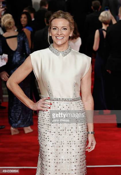 Gabby Logan attends the Royal Film Performance of 'Spectre'at Royal Albert Hall on October 26 2015 in London England