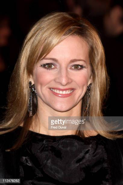 Gabby Logan attends the world premiere of The Damned United at The Vue West End on March 18 2009 in London England