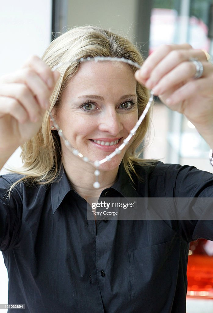 Gabby Logan Designs Jewelry  Photocall - August 14, 2006