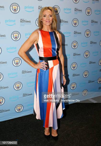 Gabby Logan poses for photo's at The Printworks on August 15 2018 in Manchester England