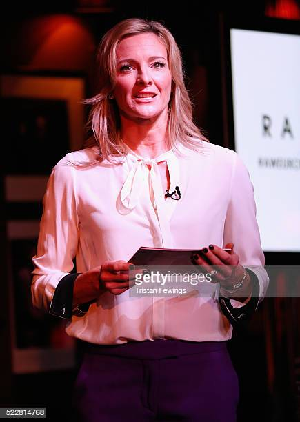 Gabby Logan TV Presenter during the RadiumOne Leadership BreakfastThe Olympics Data Running Rings Around The Competition at Advertising Week Europe...