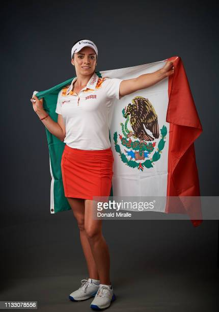 Gabby Lopez of Mexico poses for a portrait at the Park Hyatt Aviara Resort on March 26 2019 in Carlsbad California