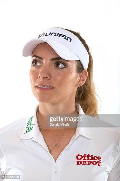 Gabby Lopez of Mexico poses for a portrait during the KIA Classic at the Park Hyatt Aviara Resort on March 22 2016 in Carlsbad California