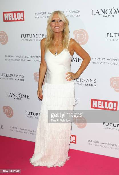 Gabby Roslin arrives at 'TEN A Decade of Dreams' at London Palladium on September 30 2018 in London England The Event is in aid of Breast Cancer...