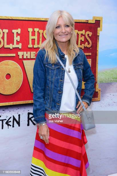 Gabby Roslin attends the Horrible Histories The Movie World Premiere at Odeon Luxe Leicester Square on July 07 2019 in London England