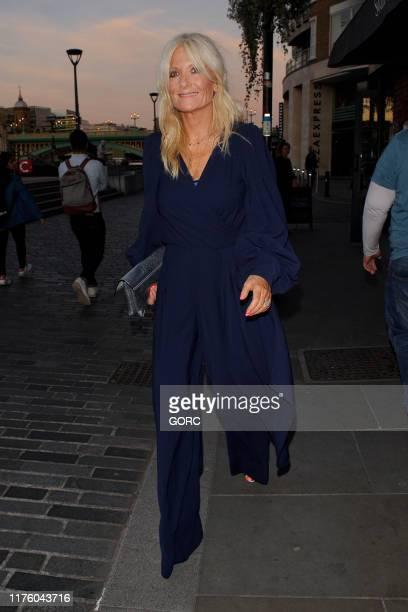 Gabby Roslin seen arriving at the Heart Hero Awards at the UnderGlobe in Bankside on September 20 2019 in London England