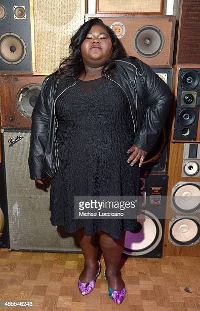 Gabby Sidibe attends the Life Partners Premiere after party during the 2014 Tribeca Film Festival at Liberty Hall on April 18 2014 in New York City