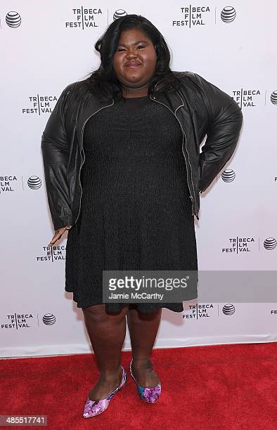 Gabby Sidibe attends the 'Life Partners' screening during the 2014 Tribeca Film Festival at SVA Theater on April 18 2014 in New York City