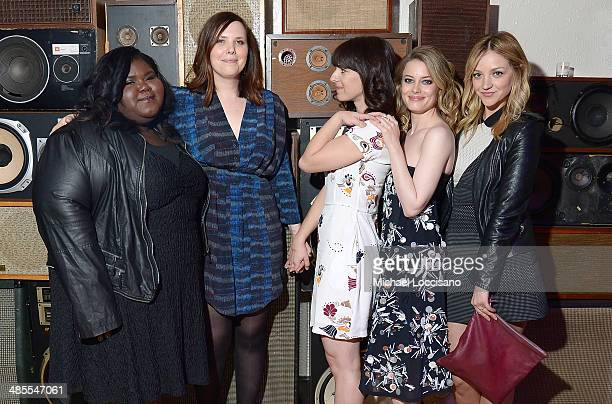 Gabby Sidibe Joni Lefkowitz Susanna Fogel Gillian Jacobs and Abby Elliot attend the Life Partners Premiere after party during the 2014 Tribeca Film...