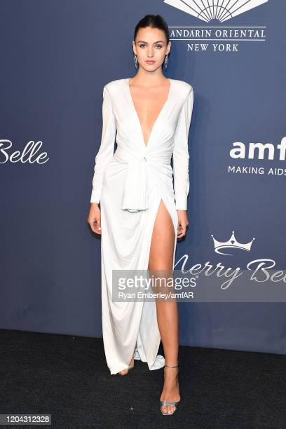 Gabby Westbrook attends the 2020 amfAR New York Gala at Cipriani Wall Street on February 05 2020 in New York City