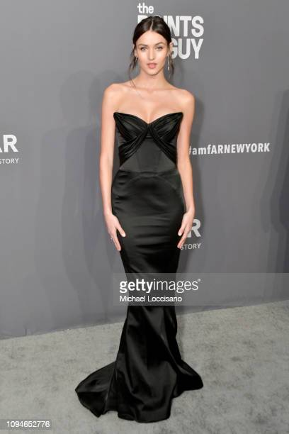 Gabby Westbrook attends the amfAR New York Gala 2019 at Cipriani Wall Street on February 6 2019 in New York City