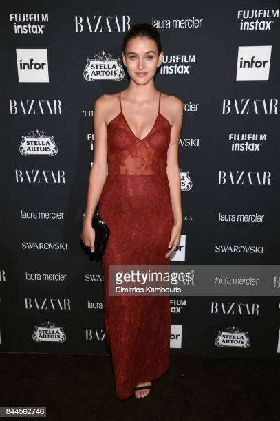 Gabby WestbrookPatrick attends Harper's BAZAAR Celebration of ICONS By Carine Roitfeld at The Plaza Hotel presented by Infor Laura Mercier Stella...
