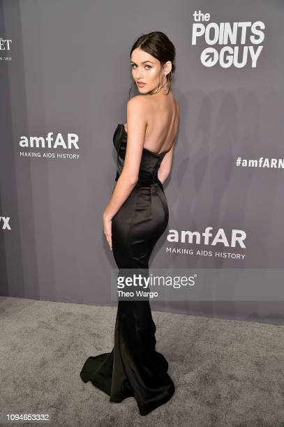 Gabby WestbrookPatrick attends the amfAR New York Gala 2019 at Cipriani Wall Street on February 6 2019 in New York City