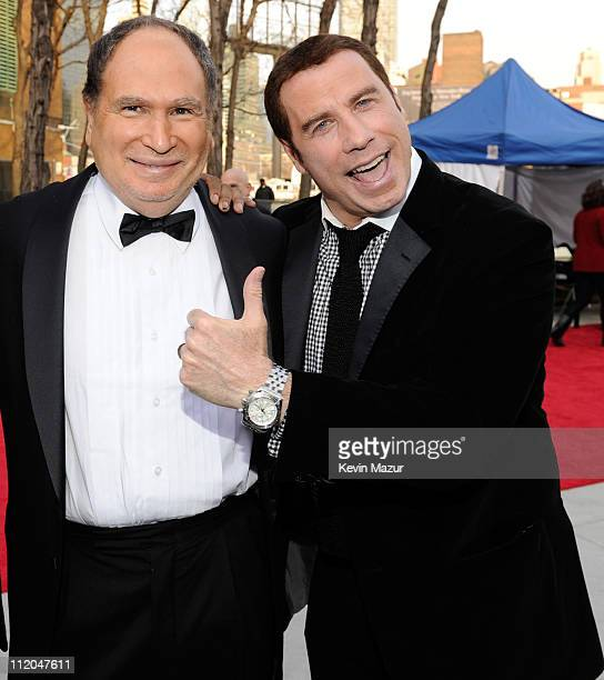 Gabe Kaplan and John Travolta attends the 9th Annual TV Land Awards at the Javits Center on April 10 2011 in New York City
