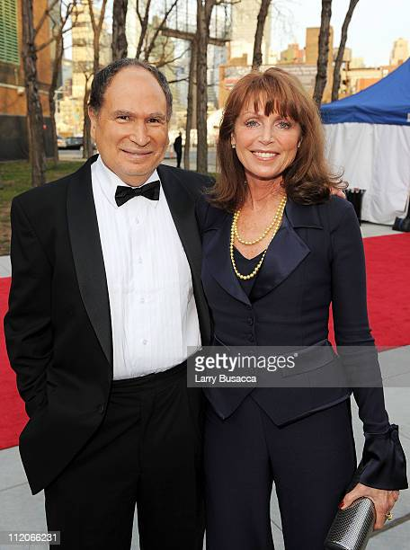 Gabe Kaplan and Marcia Strassman attend the 9th Annual TV Land Awards at the Javits Center on April 10 2011 in New York City