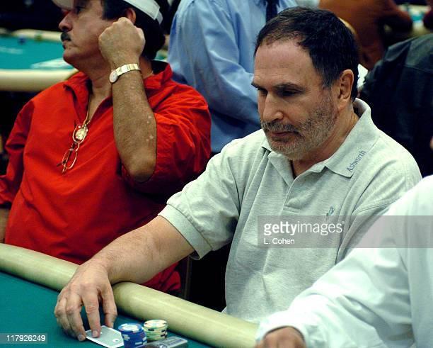 Gabe Kaplan during 2005 World Poker Tour Invitational Inside at Commerce Casino in City of Commerce California United States