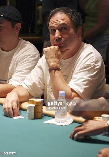 Gabe Kaplan during World Poker Tournament July 31 2004 at Mirage Mirage in Las Vegas Nevada United States