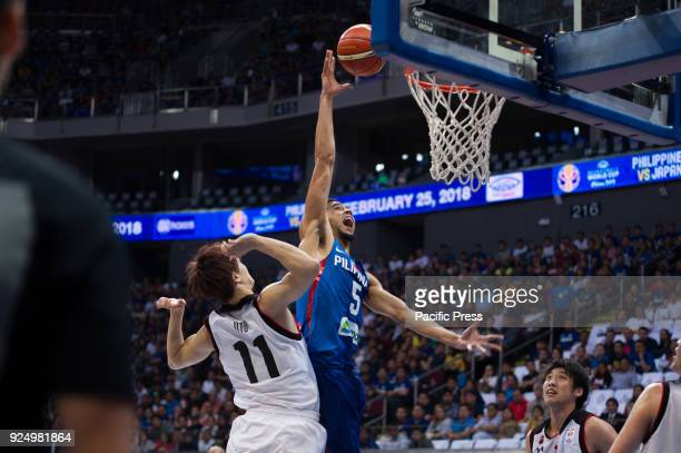 Gabe Norwoord of Gilas Pilipinas failed to complete a dunk as the ball slips from his hands Gabe Norwood finished off the game with 8 points 4...