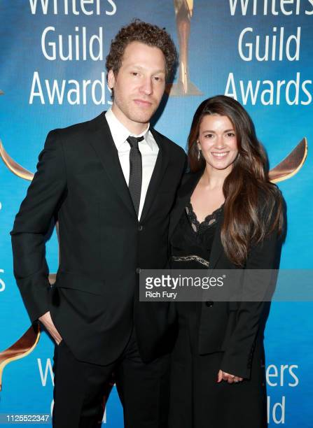 Gabe Polsky and guest attend the 2019 Writers Guild Awards LA Ceremony at The Beverly Hilton Hotel on February 17 2019 in Beverly Hills California
