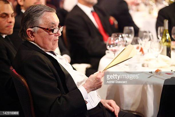 Gabe Pressman attends the 55th Annual New York Emmy Awards gala at the Marriott Marquis Times Square on April 1 2012 in New York City
