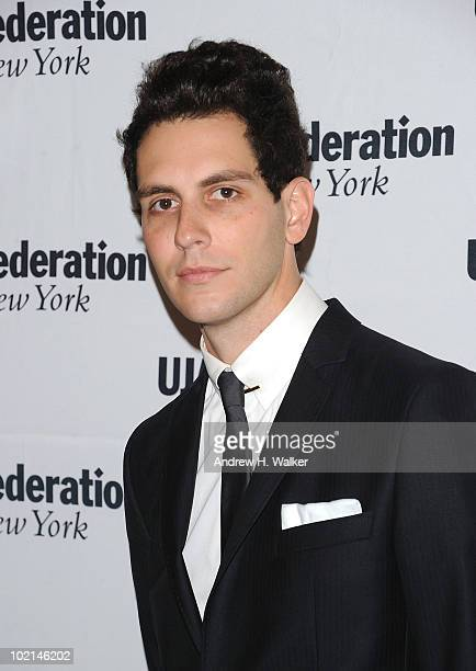 Gabe Saporta attends the UJAFederation's 2010 Music Visionary of the Year award luncheon at The Pierre Ballroom on June 16 2010 in New York City