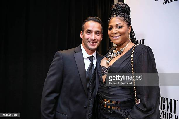 Gabe Solis and Trina Braxton attend the 2016 BMI R&B Hip Hop Awards at the Woodruff Arts Center on September 1, 2016 in Atlanta, Georgia.