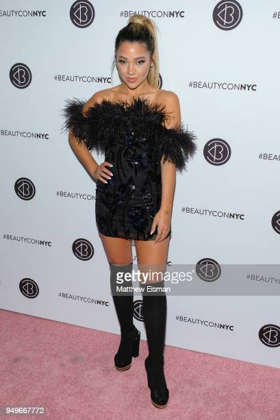 Gabi DeMartino attends Beautycon Festival NYC 2018 Day 1 at Jacob Javits Center on April 21 2018 in New York City
