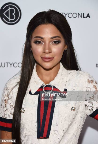 Gabi DeMartino attends the 5th Annual Beautycon Festival Los Angeles at the Los Angeles Convention Center on August 12 2017 in Los Angeles California