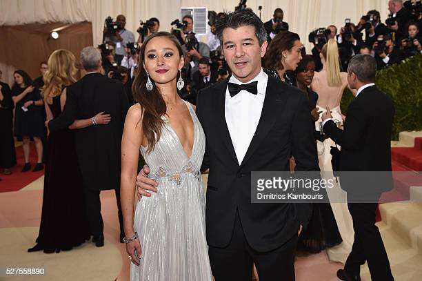 Gabi Holzwarth and Travis Kalanick attend the Manus x Machina Fashion In An Age Of Technology Costume Institute Gala at Metropolitan Museum of Art on...