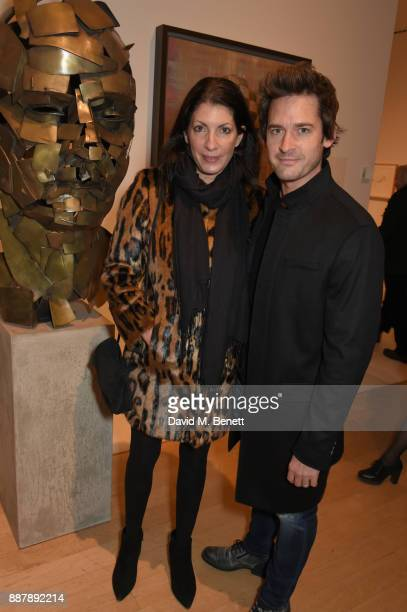 Gabi Kemp and Will Kemp attend a private view of new exhibition 'From Life' at The Royal Academy of Arts on December 7 2017 in London England