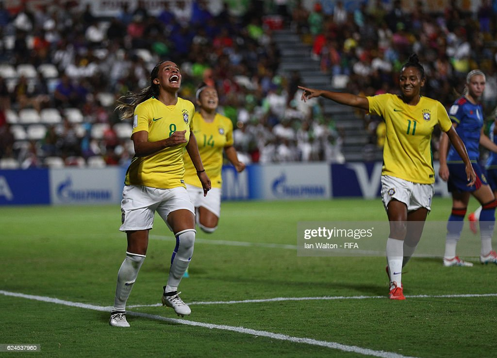Brazil v Sweden: Group A - FIFA U-20 Women's World Cup Papua New Guinea 2016
