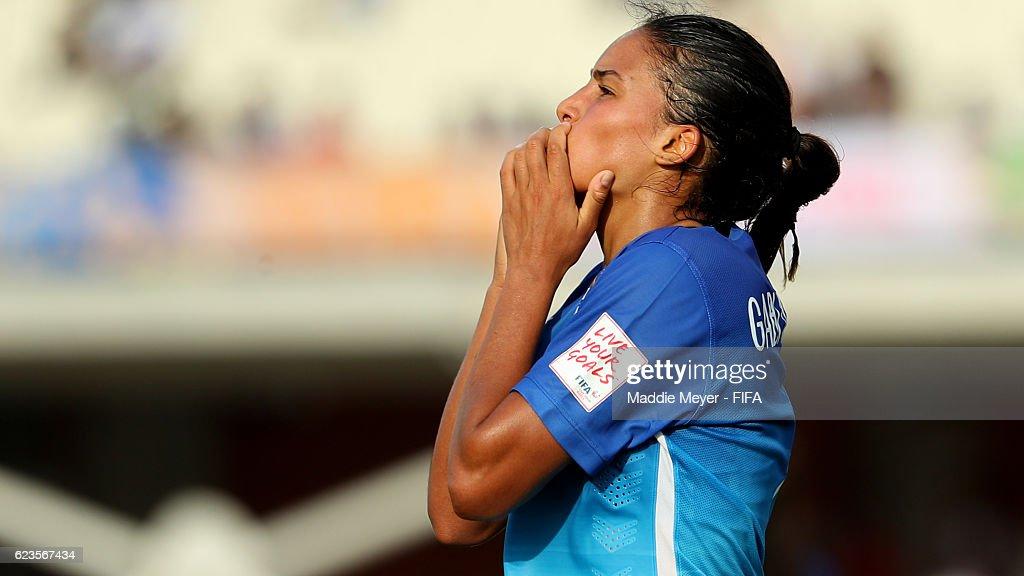 Korea DPR v Brazil: Group A - FIFA U-20 Women's World Cup Papua New Guinea 2016