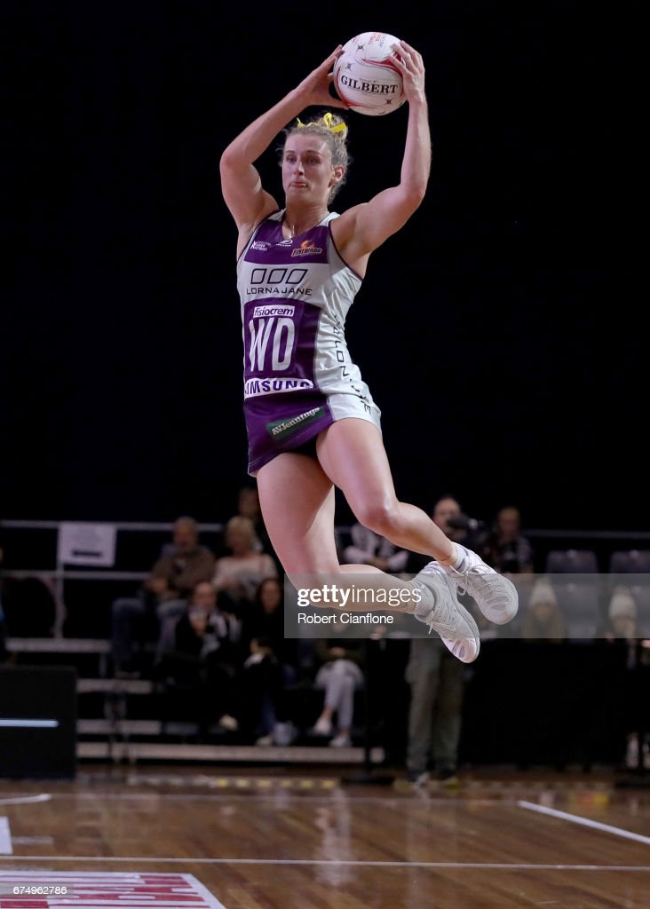 Super Netball Rd 10 - Magpies v Firebirds : News Photo