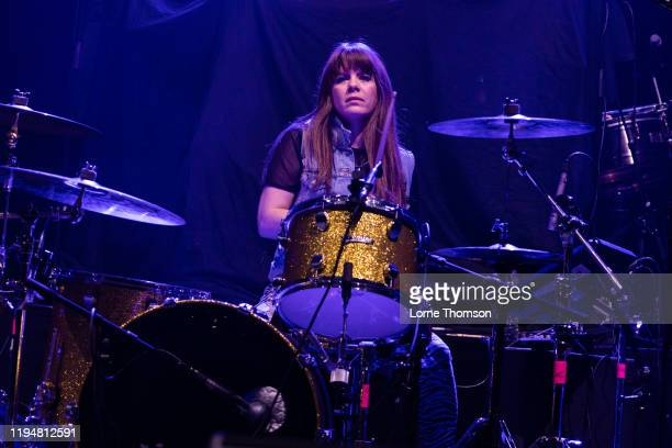 Gabi Woo of Cruel Hearts Club performs at O2 Academy Brixton on December 18 2019 in London United Kingdom