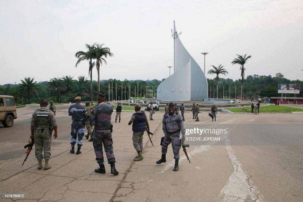 GABON-ARMY-UNREST : Nachrichtenfoto
