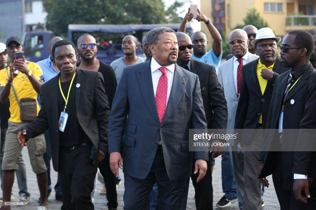 GABON-POLITICS : News Photo