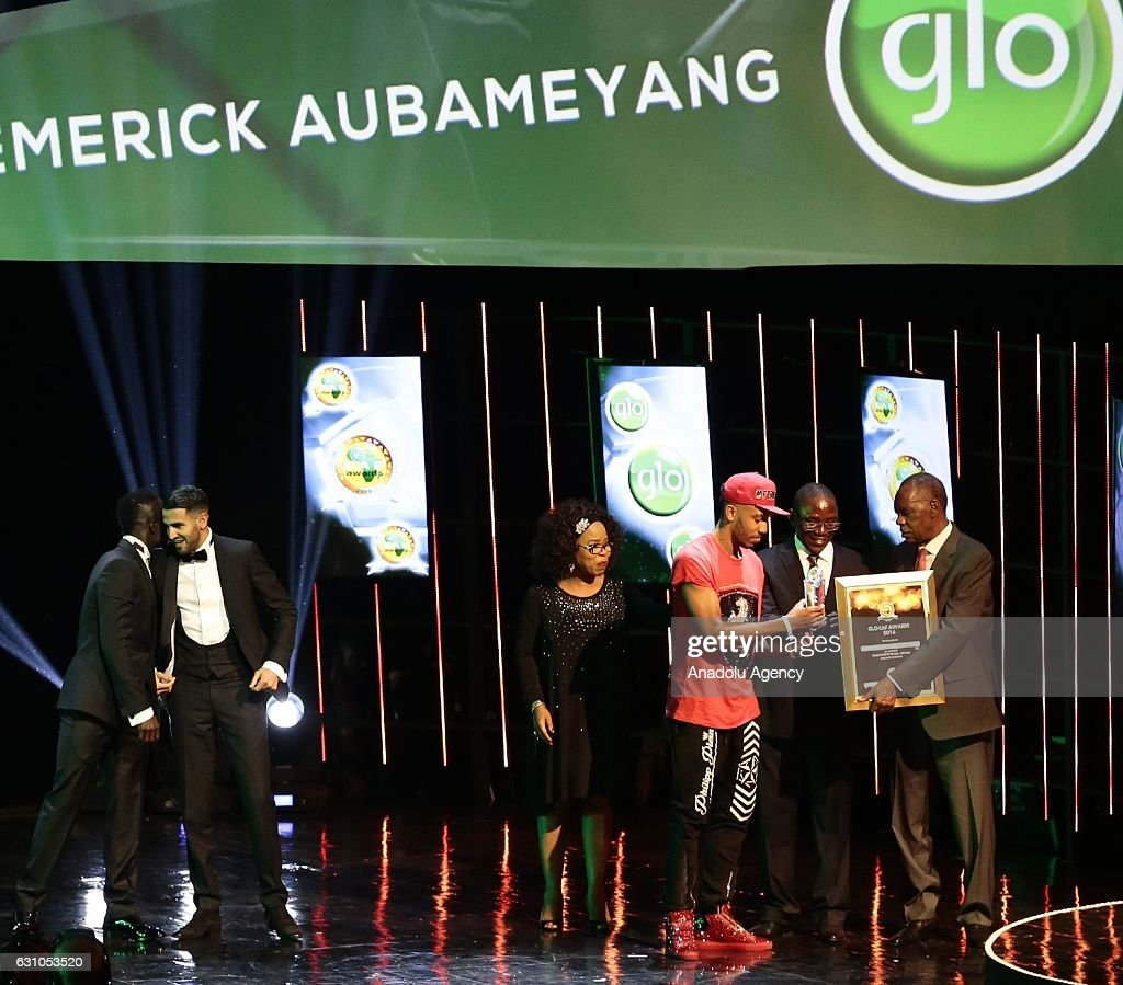 Glo-CAF ceremony in Nigeria : News Photo