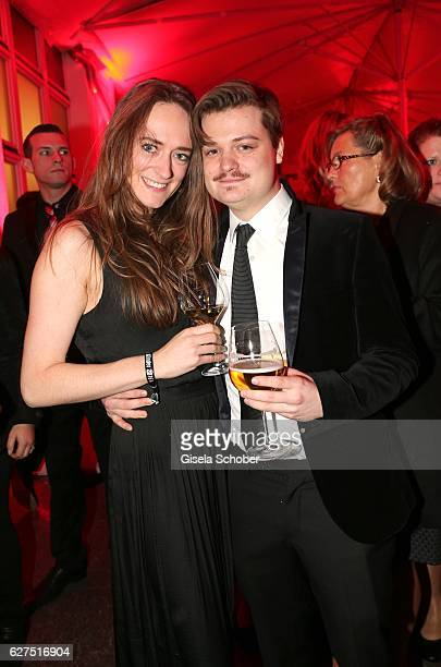 Gabor Mandoki and his girlfriend Sophie during the Ein Herz Fuer Kinder after show party at Borchardt Restaurant on December 3 2016 in Berlin Germany
