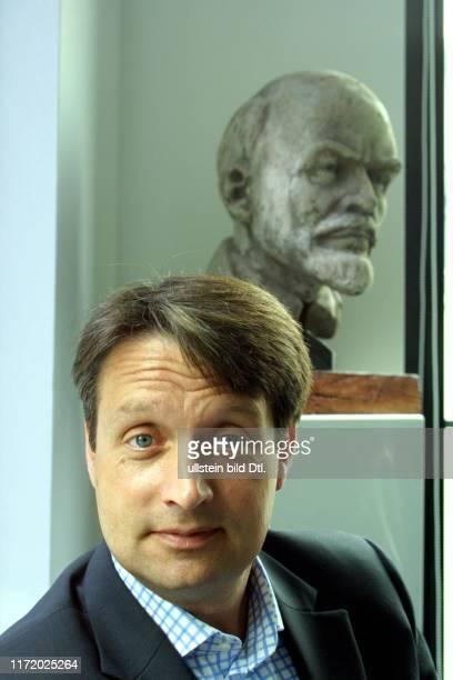 Gabor Steingart in seinem Bureau in Berlin